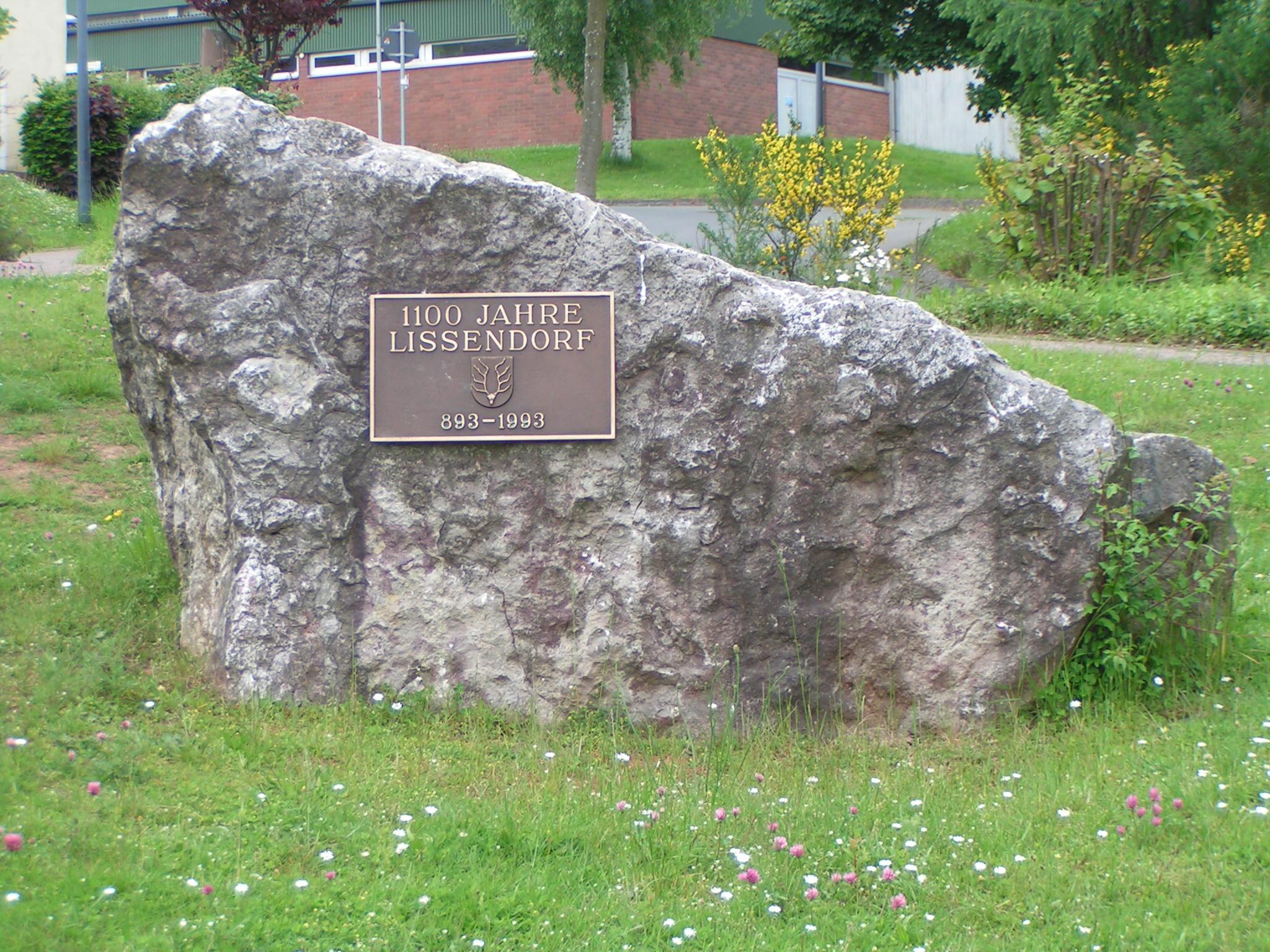 Gedenkstein 1100 Jahr-Feier